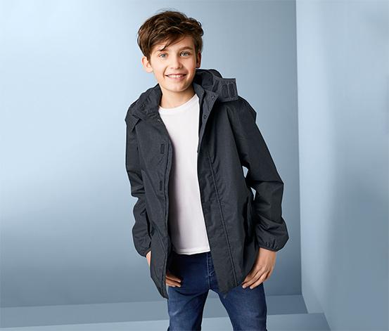Fiú kabát minden időjárásra, sötétkék 376729 a Tchibo nál.