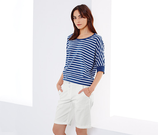 WOMAN BY TCHIBO fehér nadrág(Méret: M) Rövidnadrág