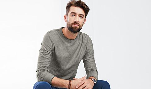 Férfi pulóverek és szabadidőfelsők most online | Tchibo